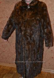 Норковая шуба    54- 56 размер
