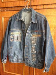курточка джинсовая на подростка