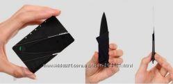 Кредитка трансформер складной нож