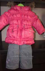 Зимний пуховой комплект девочке на 86-92 рост Baby Line