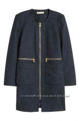 Стильное пальто- пиджак на осень