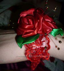 Браслетики  на руку  невестам, свидетельницам, деткам, на выпуск