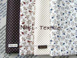 Ткань для рукоделия, пошива игрушек и декора в отрезах