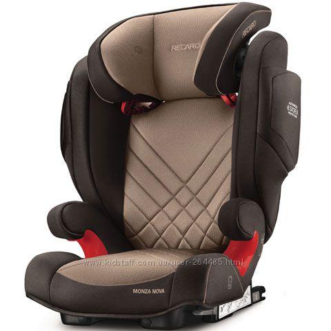 Автокресло RECARO Monza Nova 2 SeatFix - новая коллекция