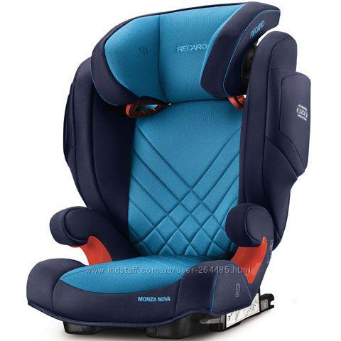 Автокресло RECARO Monza Nova 2 SeatFix Xenon Blue 2017
