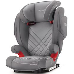 Автокресло RECARO Monza Nova 2 SeatFix Aluminium Grey 2017