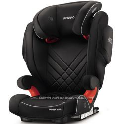 Автокресло RECARO Monza Nova 2 SeatFix Performance Black 2017