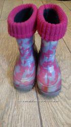Резинові чоботи, гумаки 24-25 , 16 см устілка