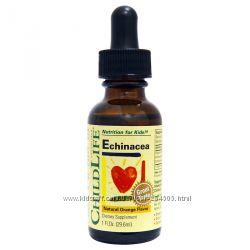 ChildLife, Essentials, эхинацея, с натуральным вкусом апельсина, 30 мл