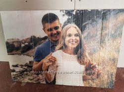 Картины и фото на дереве и досках