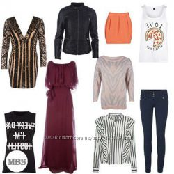 Женская одежда сток оптом Lipsy, Little Misstress, Club L, Vero Moda