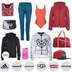 Женская спортивная одежда сток оптом Adidas, Fila, Nike, Reebok