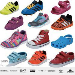 Спортивная детская обувь сток оптом Adidas, Nike, Reebok, Fila Оригинал