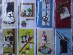 распродажа скрапбукинг, заготовки  для открыток