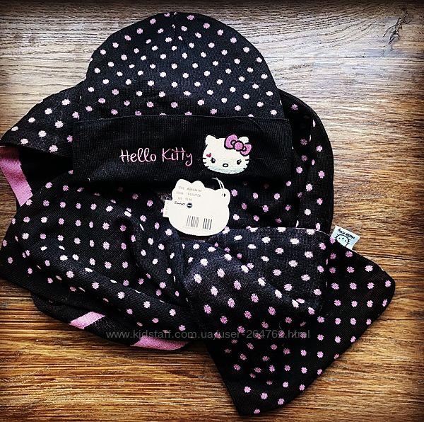 Шапка шарф Hello Kitty размер 50-53