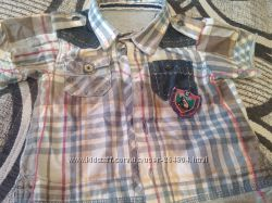 Стильная рубашечка от CHICCO 6 мес.