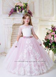 a9f219345f1b3e3 ПРОКАТ позняки платье на выпускной 6, 7 лет пышное крем пудра киев ...