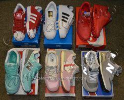 Кроссовки Nike, Adidas, New Balance, Puma