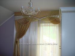 Тюль, пошив  штор в Броварах