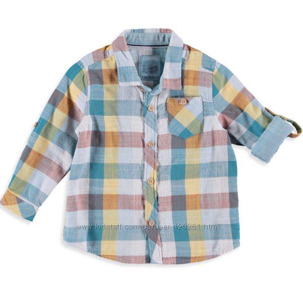 Рубашка-Шведка-110- Рукав подстегивается-Рубашки-Тенниски- Waikiki 104-122