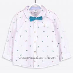 Нарядная Рубашка c Бабочкой-104см- Стильные Рубашки 104-116см-LC Waikiki