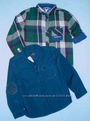 Стильные Рубашки Мальчикам-116--128-Нарядные Рубашки с бабочкой-LC Waikiki