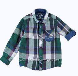 Клетчатая Рубашка 116и134см- Рубашки в Клетку, с Бабочкой-LC Waikiki