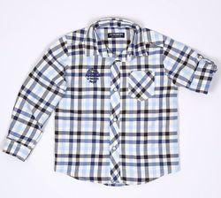 Рубашка-рукав подстегивается-122см- Хлопковые Рубашки LC Waikiki 98--128см