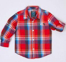 Рубашка-Хлопковая байка-Рукав подстегив.134-Рубашки LC Waikiki 104-134см