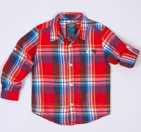 Рубашка-Хлопк. Фланель -134см- Хлопков. / Джинсовые Рубашки Waikiki 104-146