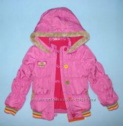Яркая Куртка-Тонк. Утеплитель-110и116-LC WAIKIKI-Теплые куртки-110и122,128