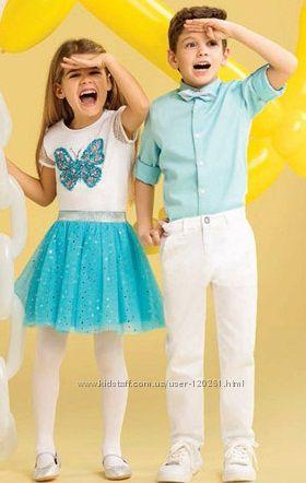 Нарядная Одежда Девочкам и Мальчикам LC Waikiki -Рубашки- Брюки - Платья