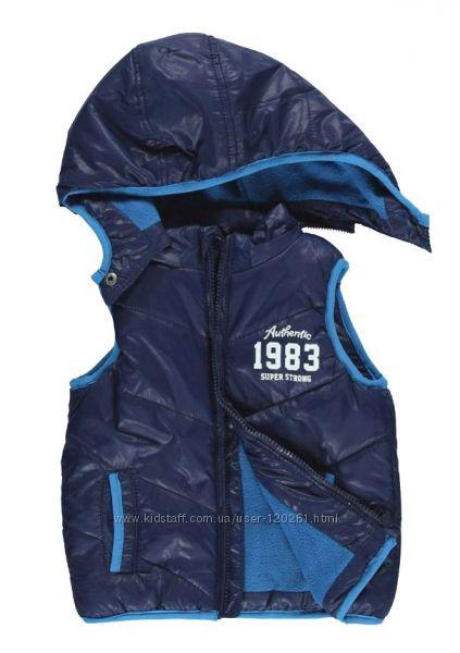 Теплая Жилетка-Мальчику-92-98см -Куртка с Шарф/варежк. -LC Waikiki 92-98см