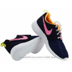 Nike  Big Kids Rosherun оригинальные кроссовки 33. 5