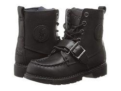 Polo Ralph Lauren кожаные оригинальные ботинки 32, 5