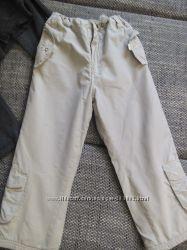 утеплённые штанишки  на рост 104, 110, 116