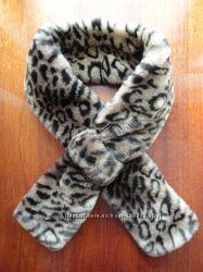 Элегантный воротник-шарф для куртки или пальто