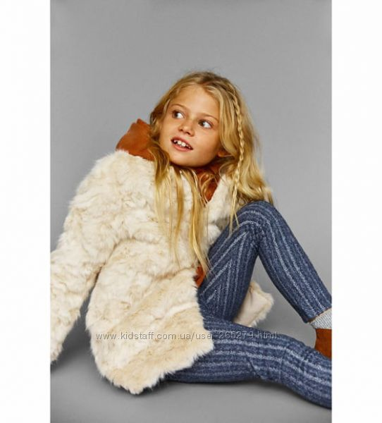 6-7 лет, обалденная куртка шубка молочного цвета на кнопочках