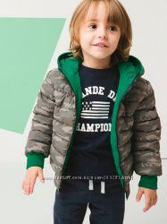 2-х сторонняя модная демисезонная куртка Vertbaudet Франция