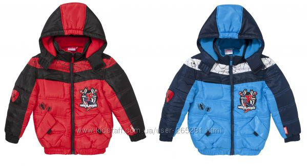 Супер-красивая куртка для мальчика Спайдермен Disney Англия
