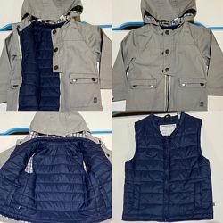 Супер курточка 3в1 Obaibi на 2 роки
