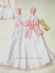 Распродажа-Нарядное стильное платье, США на 4-5лет