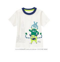 Новая футболка Gymboree для мальчика размер 4Т