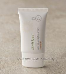 Солнцезащитный крем для жирной кожи от Innisfree. Оригинал. В наличии