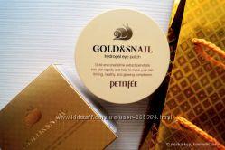 Активные регенерирующие гидрогелевые патчи Petitfee Gold Snail Hydrogel Eye