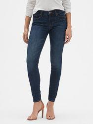 Женские джинсы Gap Mid Rise Legging Jeans, 25 размер