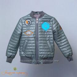 Оригинальная демисезонная куртка для мальчиков 4-6 лет Модный карапуз