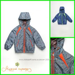 Стильные демисезонные куртки для мальчиков 1-3, 5 лет Модный карапуз