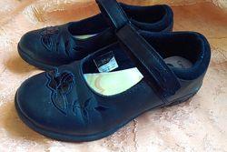 Школьные фирменные туфли с мигалками George Disney Princess