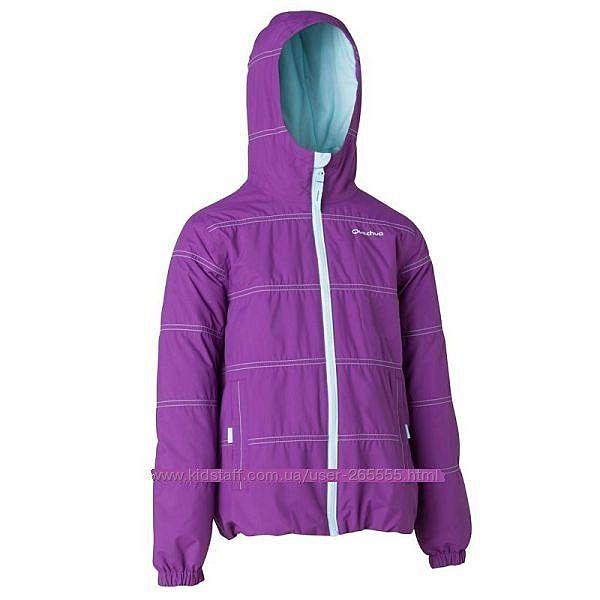 Фирменная деми куртка. Рост 104-116. Фирма Quechua